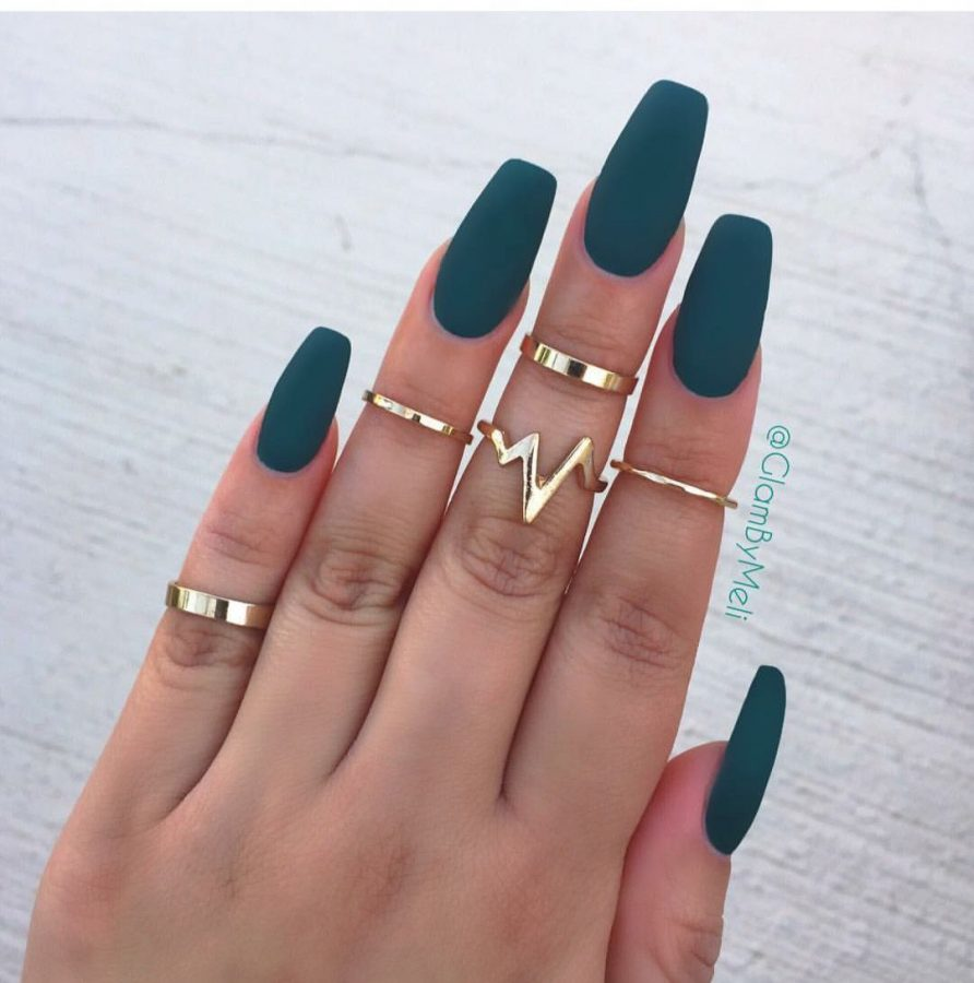 square matte nails