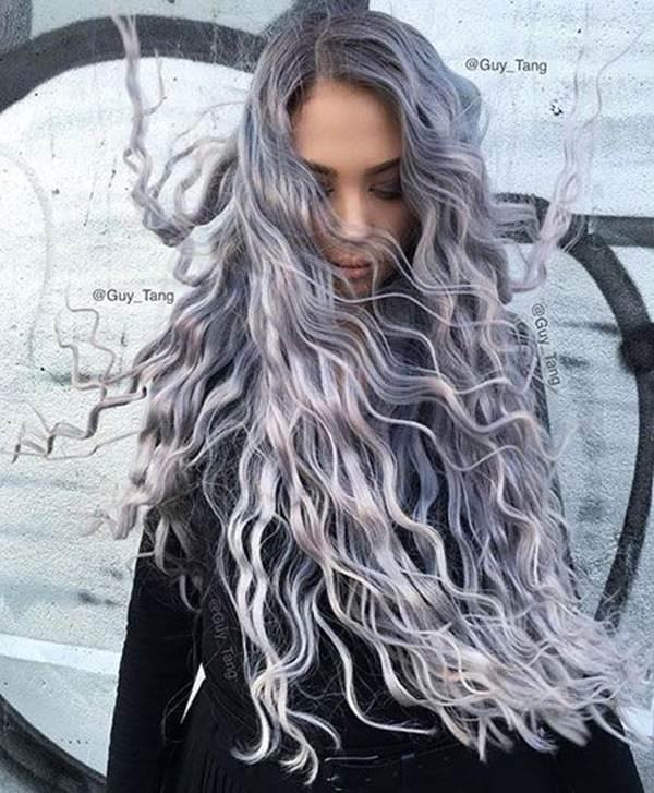 Silver hair 4