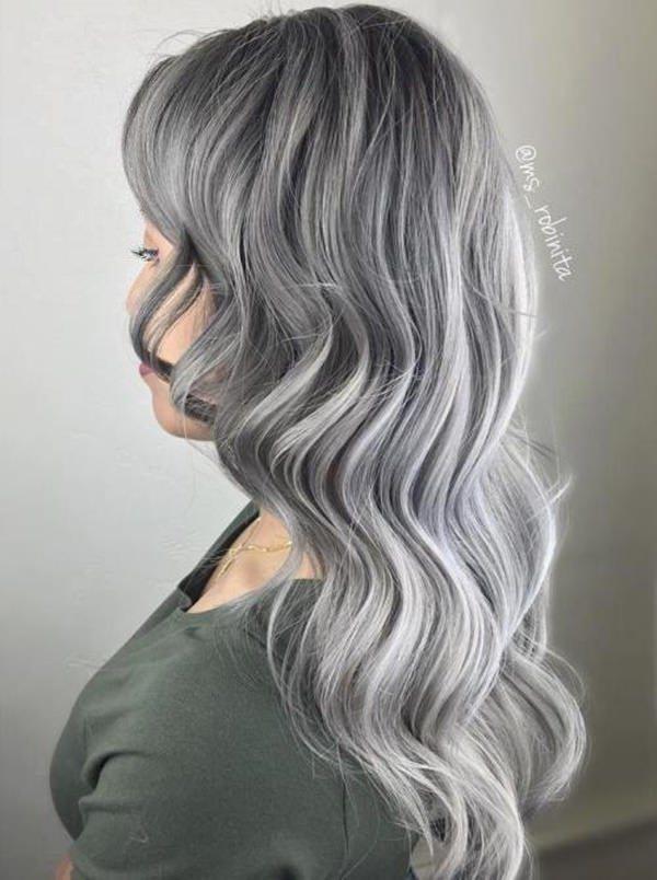 Silver hair 20
