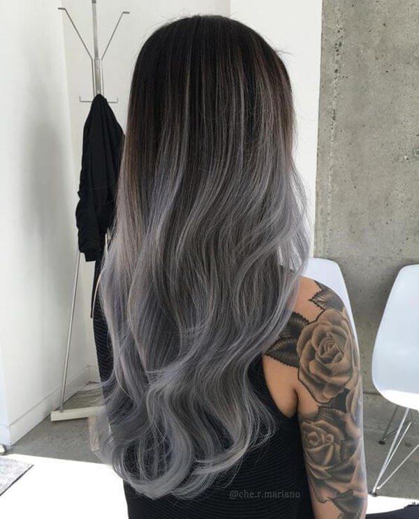 Silver hair 14