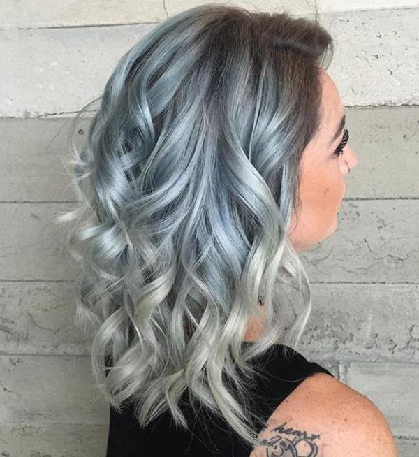 Silver hair 25