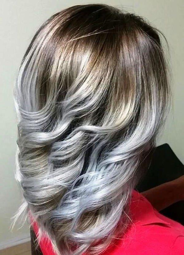 Silver hair 21