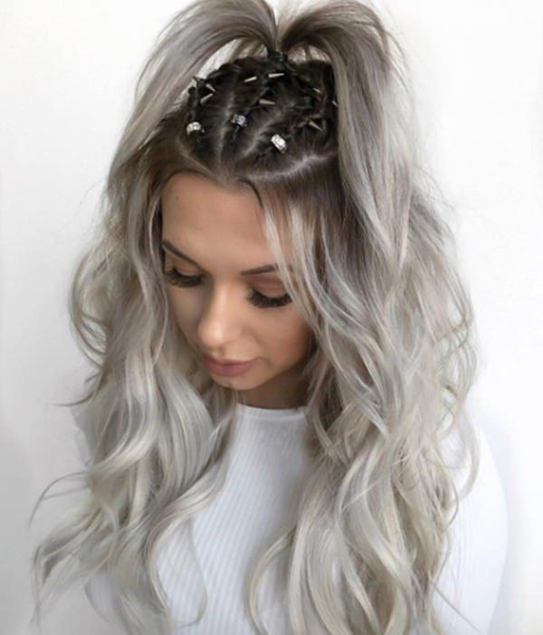 Silver hair 24