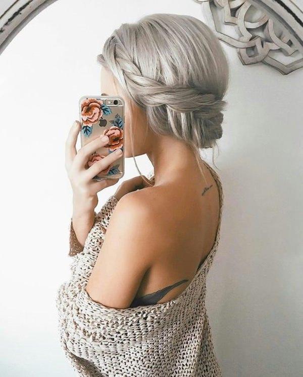 Silver hair 22