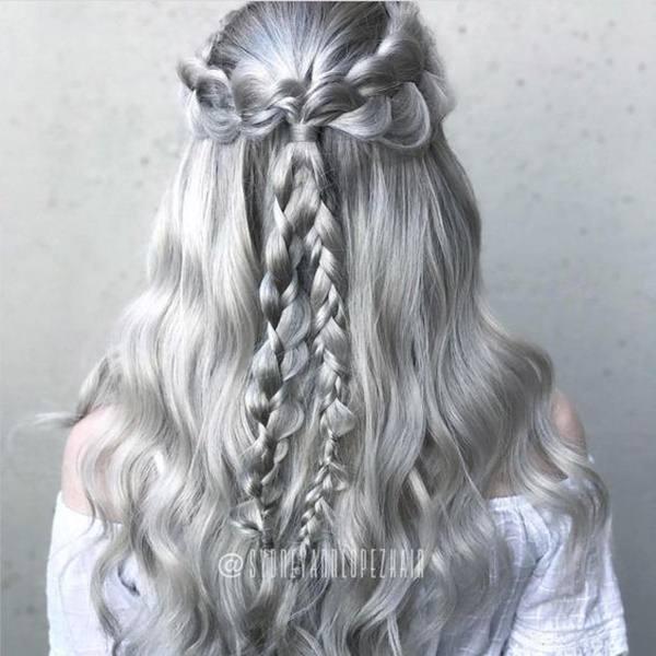 Silver hair 16