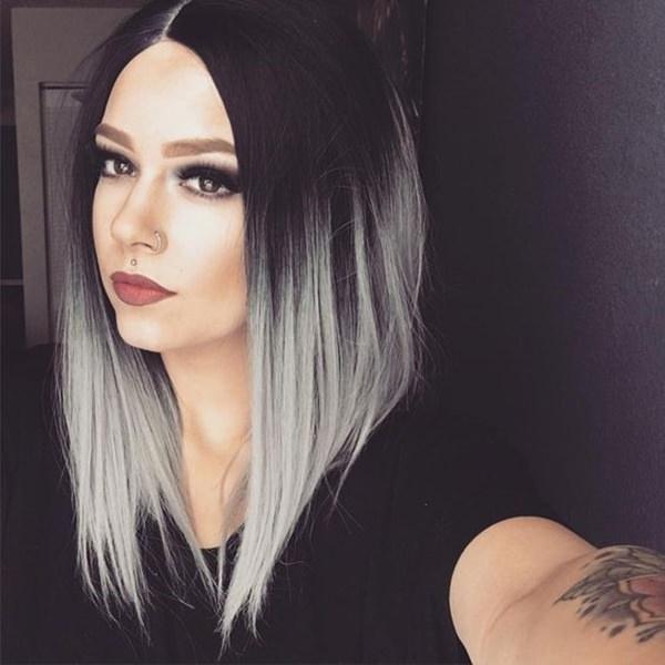 Silver hair 15