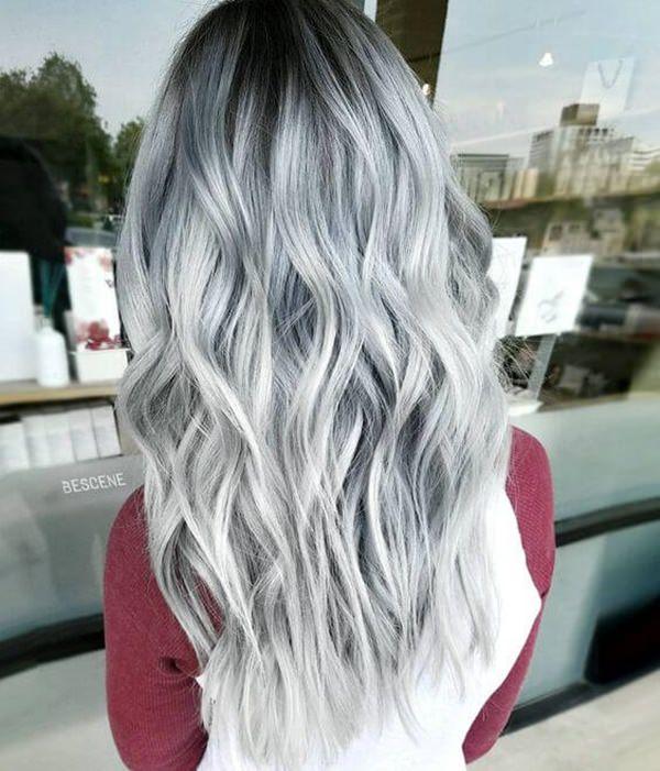Silver hair 17