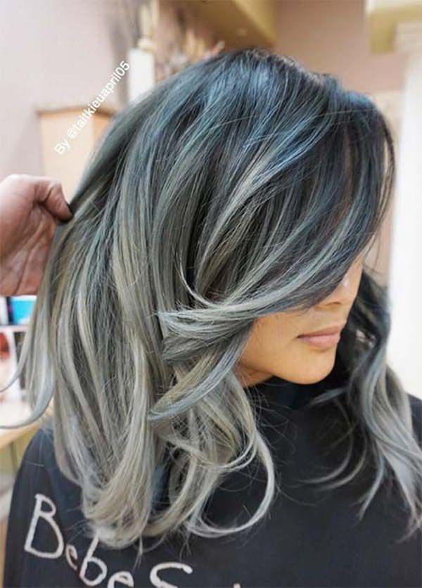 Silver hair 23