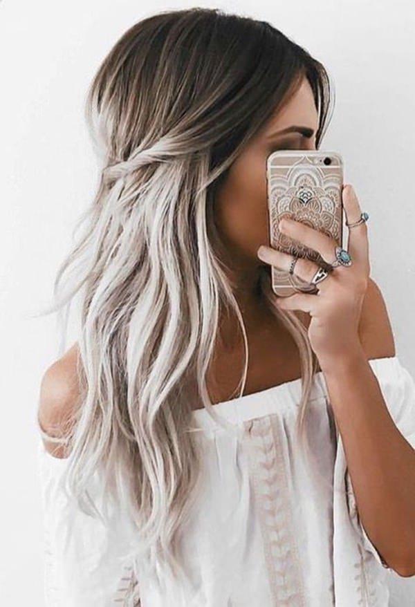 Silver hair 19