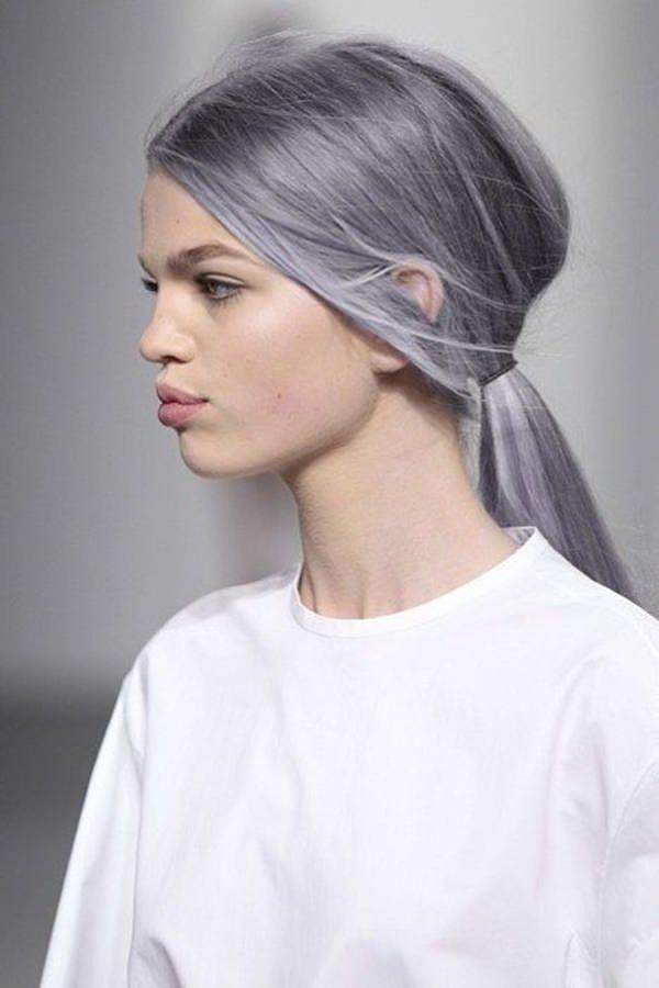 Silver hair 9