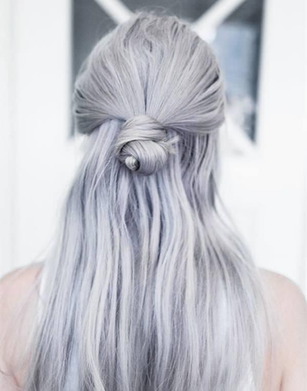 Silver hair 10