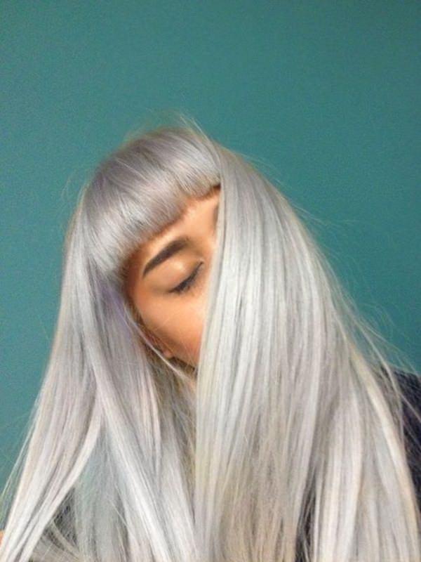 Silver hair 34