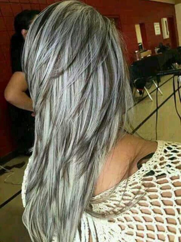 Silver hair 28