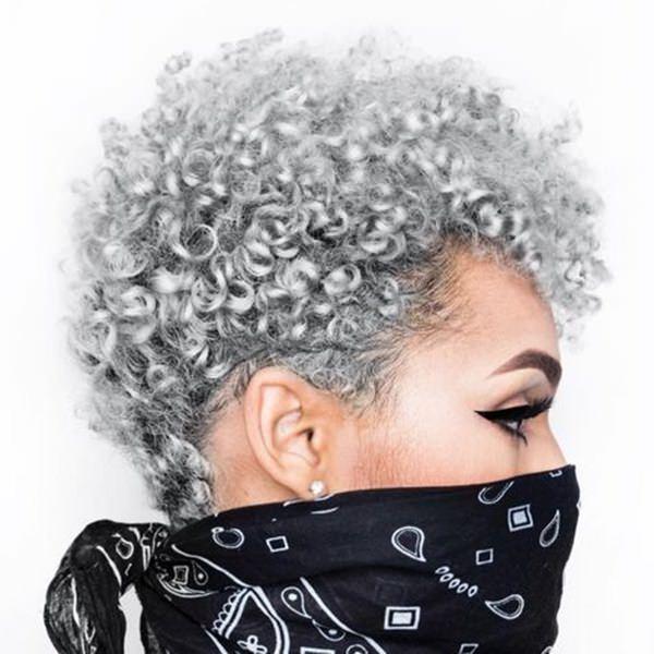 Silver hair 11