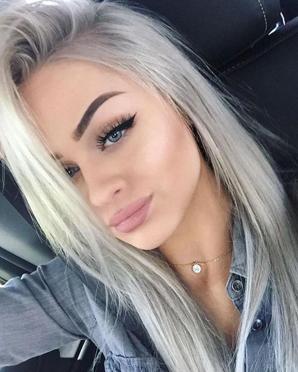 Silver hair 54