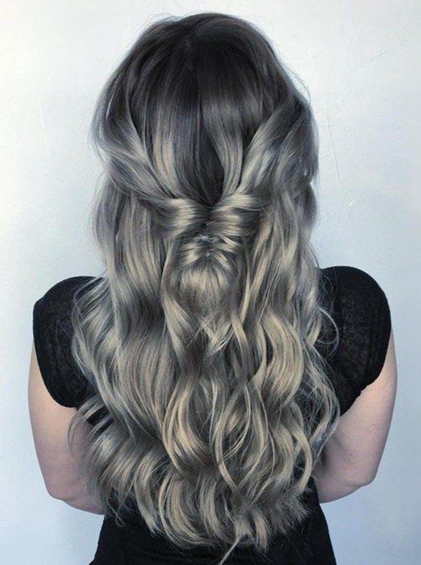 Silver hair 41