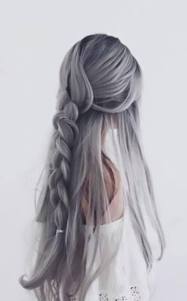 Silver hair 42