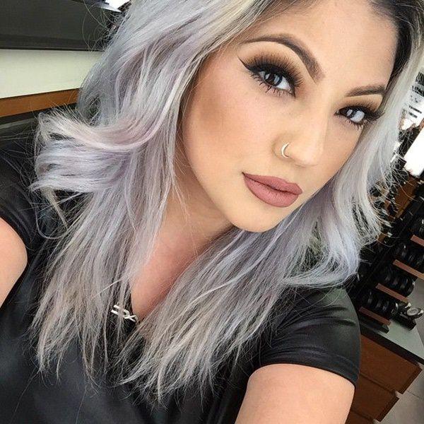 Silver hair 46