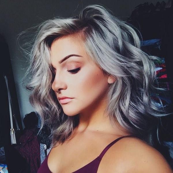 Silver hair 37