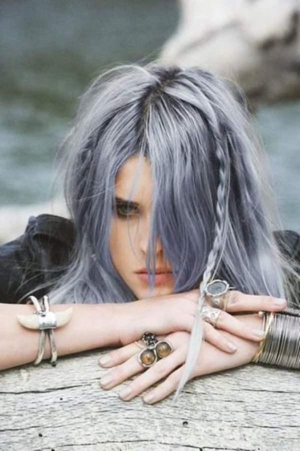 Silver hair 52