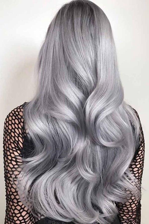 Silver hair 47