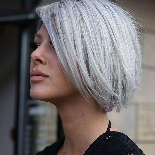 Silver hair 56
