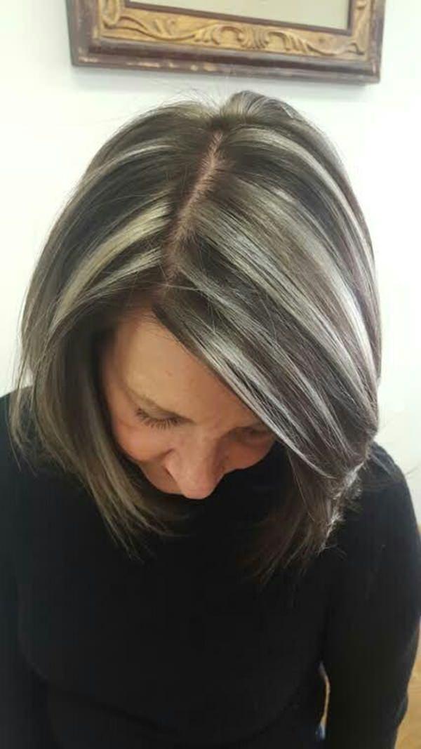 Silver hair 44