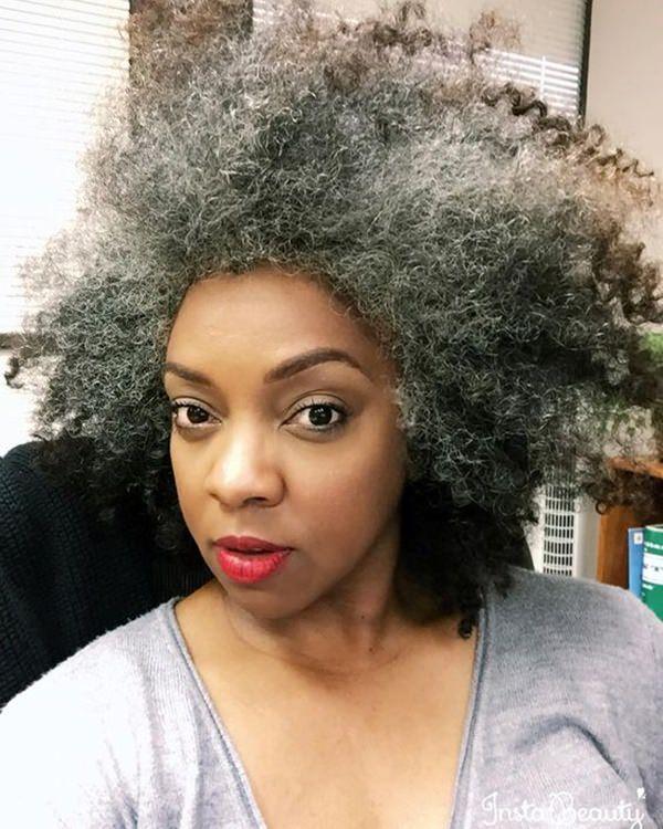 Silver hair 43