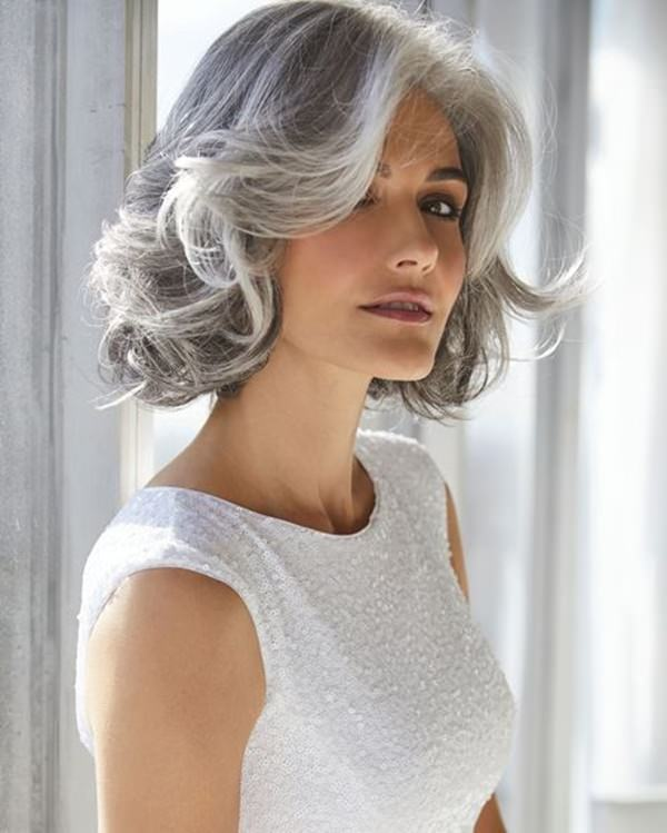 Silver hair 60