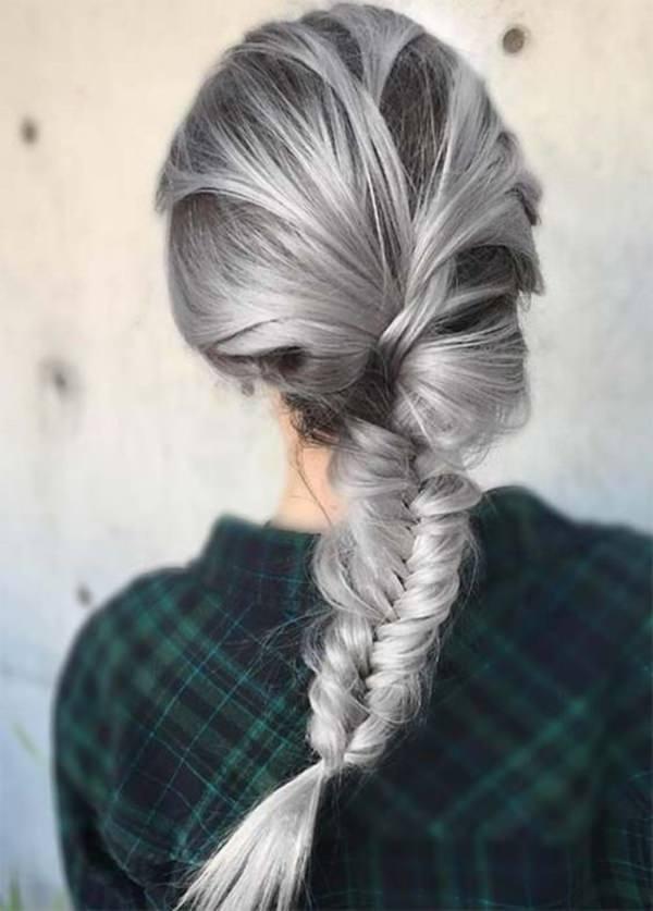Silver hair 76