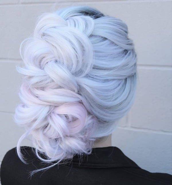 Silver hair 75