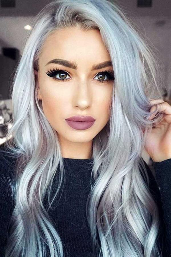 Silver hair 74