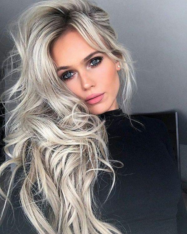 Silver hair 57