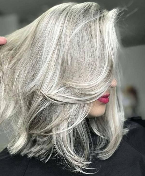 Silver hair 81