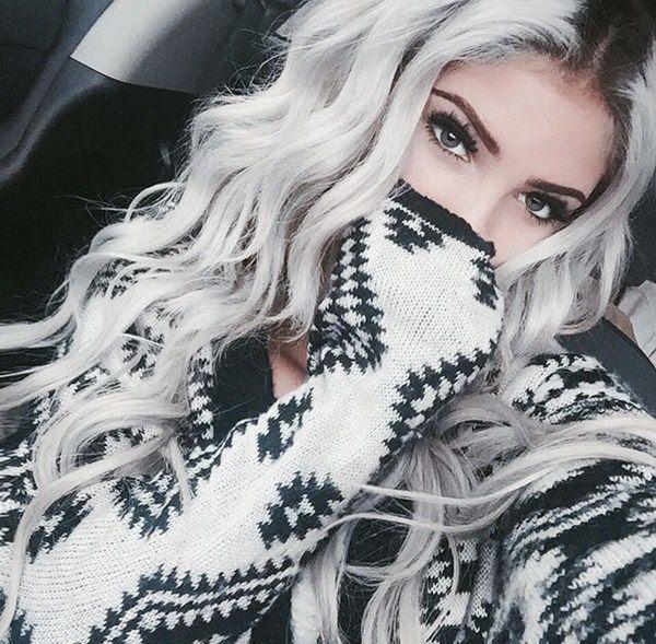 Silver hair 61