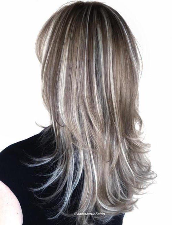 Silver hair 64