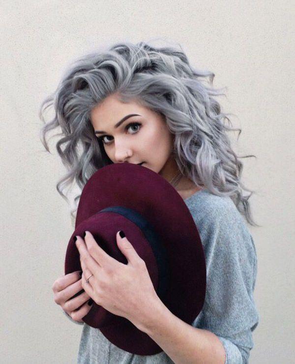 Silver hair 80