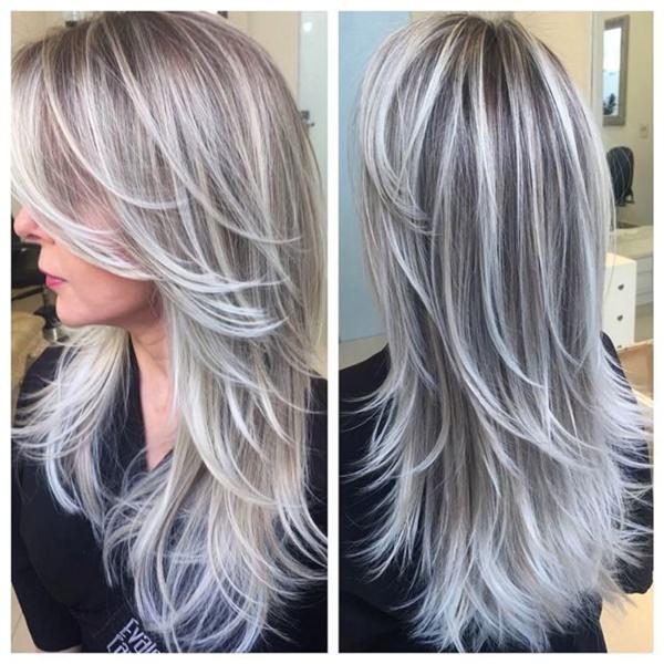 Silver hair 73