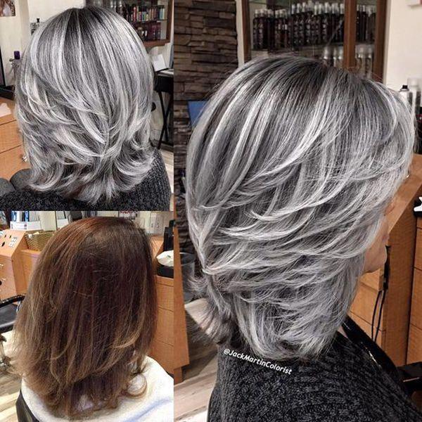 Silver hair 65