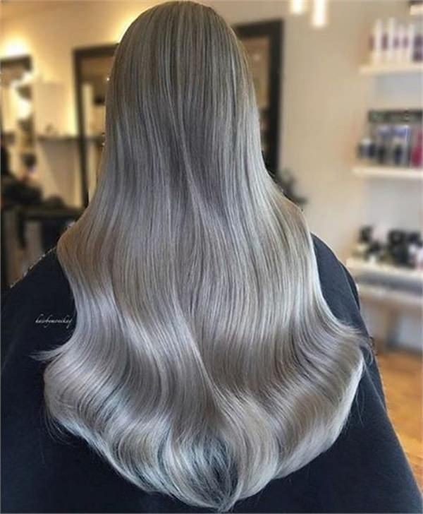 Silver hair 77
