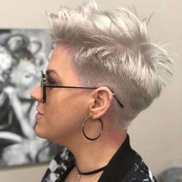 Silver hair 62