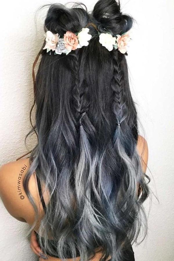 Silver hair 69