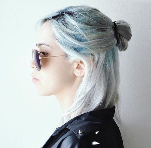 Silver hair 66