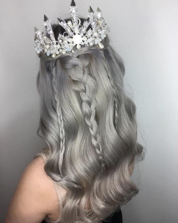 Silver hair 87