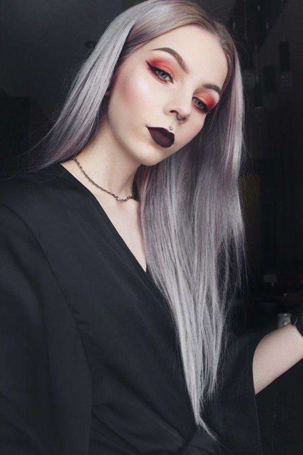 Silver hair 98