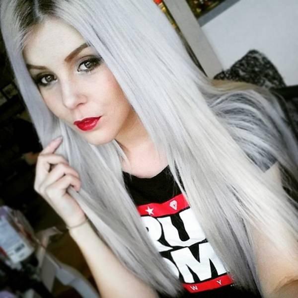 Silver hair 91