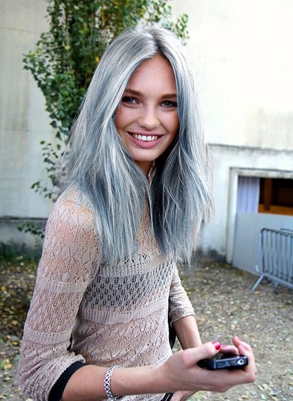 Silver hair 85