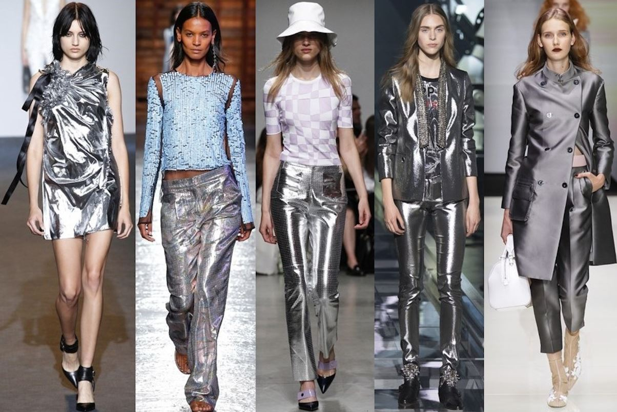 7 ways to include metallic shades to your clothing and look definitely magnificent