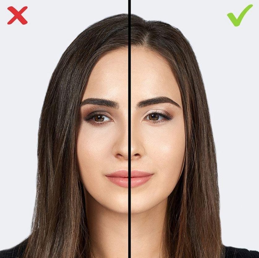 Dark eyeshadow makeup