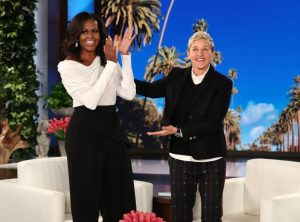 Ellen DeGeneres Challenges Michelle Obama